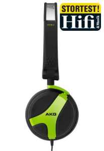 AKG K518 DJ Green
